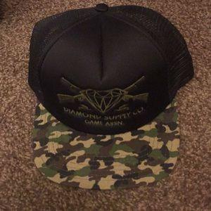 Diamond Supply Co SnapBack hat